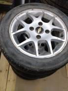 Продам шины на литых дисках 195/55R15 на шевроле лачетти. x15 4x114.30