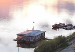 """Ресторан на воде """"Баржа"""". Год: 2015 год, длина 25,00м., двигатель стационарный, дизель. Под заказ"""