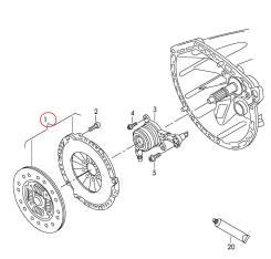 Сцепление. Volkswagen Crafter. Под заказ