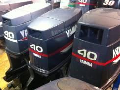 Yamaha. 40,00л.с., 2х тактный, бензин, нога L (508 мм), Год: 1998 год