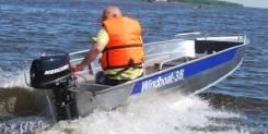 Windboat. 2018 год год, длина 3,80м., двигатель без двигателя, 15,00л.с., бензин. Под заказ