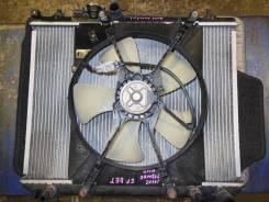 Радиатор охлаждения двигателя. Daihatsu Terios Kid, J111G Двигатель EFDET