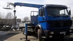 Mercedes-Benz. Продам Мерседес с манипулятором, 15 078 куб. см., 14 000 кг., 12 м.