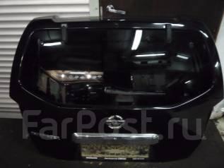 Крышка багажника. Nissan Pathfinder, R51 Двигатели: VQ40, YD25