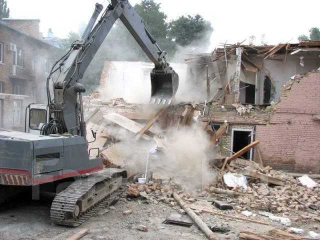 Демонтаж . Любые демонтажные работы. Сносим дома и демонтаж квартир