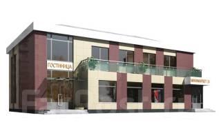 Гостиница с минимаркетом. 300-400 кв. м., 2 этажа, 7 комнат, панели
