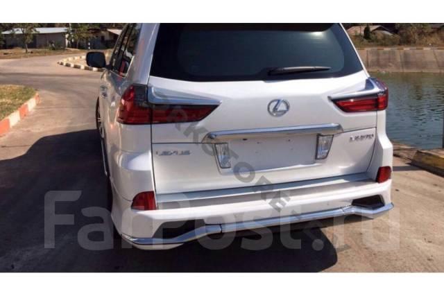 Обвес кузова аэродинамический. Lexus LX570, SUV