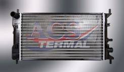 Радиатор охлаждения двигателя. Ford Escort