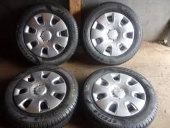 Комплект колёс Skoda Fabia 165/70R14. 5.0x14 5x100.00 ET35 ЦО 57,1мм.
