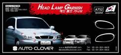 Chevrolet шевролет Lanos накладки на передние фары. Chevrolet Lanos