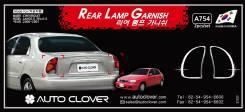 Молдинг под фару. Chevrolet Lanos