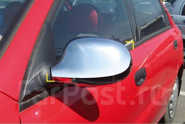 Накладка на зеркало. Chevrolet Lanos