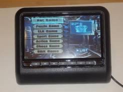 """Монитор """"9"""" на подголовник в АВТО DVD/USB/игры . Новый!"""