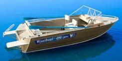 Wyatboat. 2019 год, длина 5,04м., двигатель подвесной, 60,00л.с., бензин. Под заказ