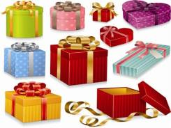 Коробки подарочные.
