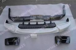 Обвес кузова аэродинамический. Lexus LX570, URJ201, URJ201W