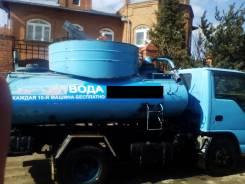 Комунальная техника-водовоз