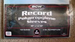 Пакеты внешние для виниловых пластинок Vinyl, LP, LD