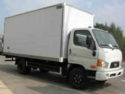 Hyundai HD78. Грузовик Hyundai HD 78 Промтоварный фургон, 3 900 куб. см., 5 000 кг.
