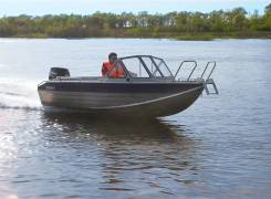 Rusboat. Год: 2017 год, длина 4,70м., двигатель подвесной, 70,00л.с., бензин. Под заказ