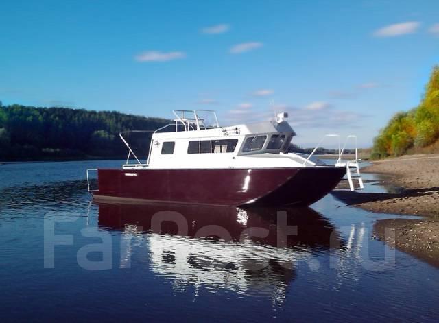 Rusboat. Год: 2017 год, длина 8,50м., двигатель подвесной, 500,00л.с., бензин. Под заказ