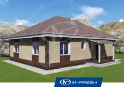 M-fresh Big Martin (Проект 1-этажного дома! Посмотрите! ). 100-200 кв. м., 1 этаж, 4 комнаты, каркас
