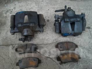 Суппорт тормозной. Toyota Platz, SCP11 Toyota Vitz, SCP10, SCP11 Двигатель 1SZFE