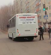 Реклама на заднем стекле автобусов/Бартер