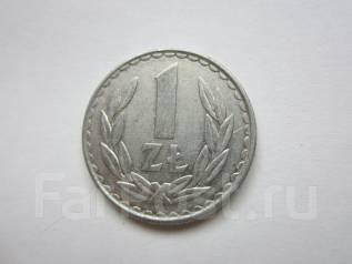 Польша 1 злотый 1982 года.