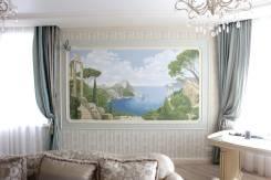 Художник - роспись стен, мозаика, витраж, декоративные штукатурки.
