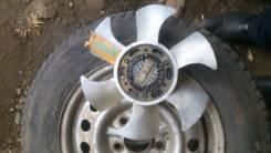 Вентилятор охлаждения радиатора. Mitsubishi Pajero Mini Двигатель 4A30