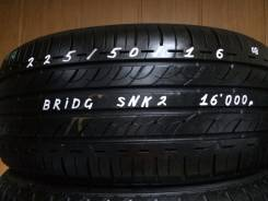 Bridgestone Sneaker Ecopia. Летние, 2008 год, износ: 5%, 4 шт