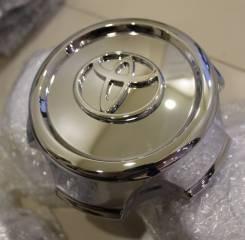 "Хром колпаки Toyota Land Cruiser 100 42603-60250. Диаметр Диаметр: 16"", 1 шт."