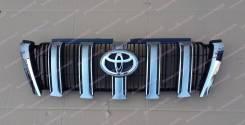 Решетка радиатора. Toyota Land Cruiser Prado, TRJ12, GDJ150W, TRJ120, TRJ125W, KDJ150L, GRJ150L, GRJ150W, TRJ125, GDJ151W, TRJ150W, TRJ120W, GRJ151W Д...