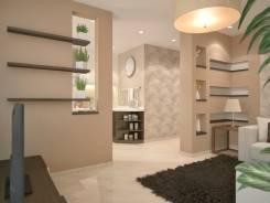 Перепланировка 1 ком. кв. по дизайн проекту. Светящиеся элементы. Тип объекта квартира, комната, срок выполнения 3 месяца