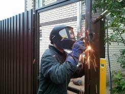 Сварочные работы подпорные стены решётки заборы и кованные изделия