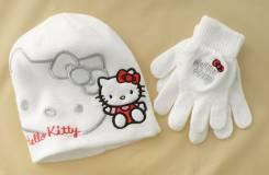 Шапка и перчатки. Рост: 80-86, 86-92, 92-98, 98-104 см