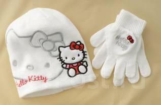 Шапка и перчатки. Рост: 80-86, 86-98, 98-104 см