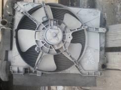 Радиатор охлаждения двигателя. Toyota Passo