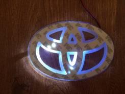 Логотип Тойота Toyota диодная подсветка под шильд
