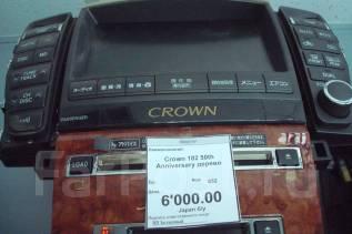 Магнитола. Toyota Crown, GRS182 Двигатели: 3GRFE, 3GRFSE