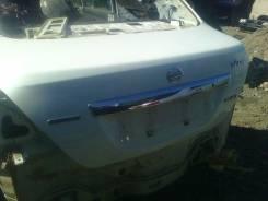 Крышка багажника. Nissan Tiida Latio, SNC11, SZC11, SC11, SJC11
