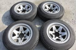 175/80 R15 Bridgestone Blizzak DM-V1 литые диски 6х139.7 R15 (L4-15005