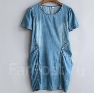 Платья джинсовые. 40, 42