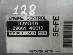 Блок управления автоматом. Toyota Raum, EXZ15, EXZ10 Двигатель 5EFE