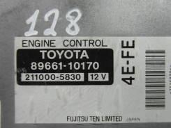 Блок управления двс. Toyota Starlet, EP91, EP95 Двигатель 4EFE