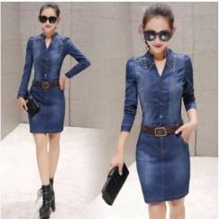 Платья джинсовые. 40, 42, 44