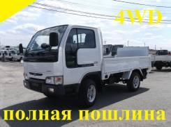 Nissan Atlas. 4WD, борт + аппарель, 2 700 куб. см., 1 500 кг.