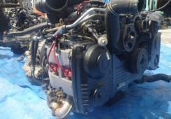 Двигатель. Subaru Legacy Lancaster, BH9. Под заказ