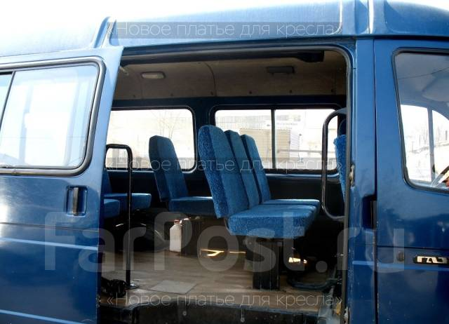 Перетяжка сидений, реставрация, чехлы для Грузовиков.